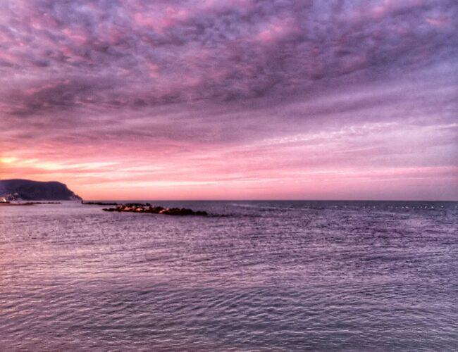 L'eternità è il mare mischiato col sole. (Arthur Rimbaud)